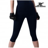 Compression Capri Pants Women EC Navy