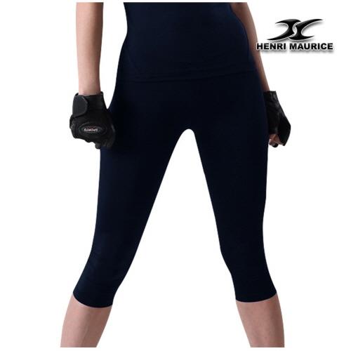 Compression Capri Pants Women EC Navy