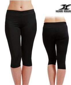 Compression Capri Pants Women EC Black