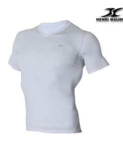 Short Sleeve Compression V Neck Shirt SV