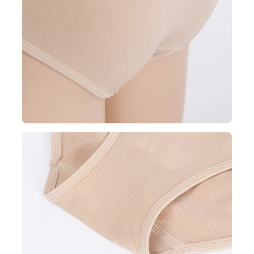 Comfort Seamless Sports Bra and Panty Set Clothing Beige