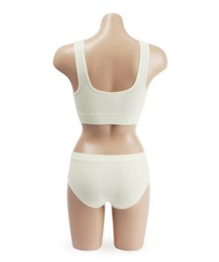 Comfort Seamless Sports Bra and Panty Set Clothing Ivory