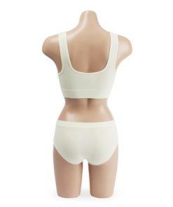 Comfort Seamless Sports Bra and Panty Set Clothing Ivory