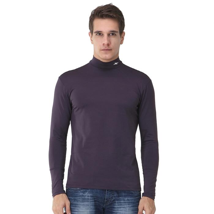 Mock turtleneck men nmm gray thermal shirts ourunderwear for Mens mock turtleneck shirts sale