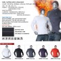 Mens-Thermal-Mock-Neck-Shirts-NMM-Black-detail-01
