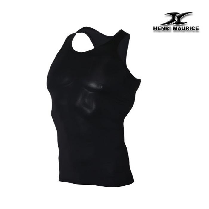 26588d8074688a Mens Tank Top Undershirt KM Black Mango Type – ourunderwear