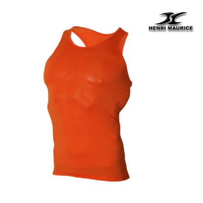 Mens-compression-undershirt-KM-base-layer-orange