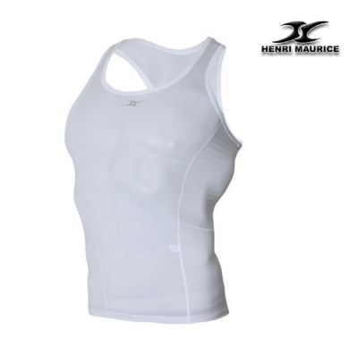 Mens-compression-undershirt-KM-base-layer-white