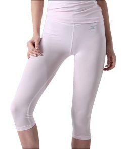 Compression Capri Cropped Pants Women CG Pink