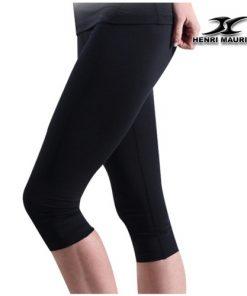 Compression Capri Cropped Pants Women CG Black