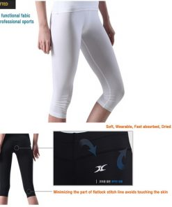 Compression Capri Cropped Pants for Women CG