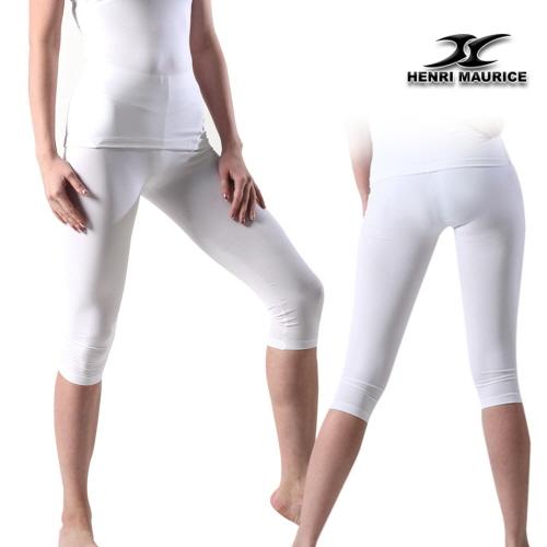 bb3b3a97a71d0 Compression Capri Pants Women EC White - ourunderwear
