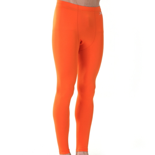 2faf4921d1f4d Mens Compression Long Pants PS Orange - ourunderwear