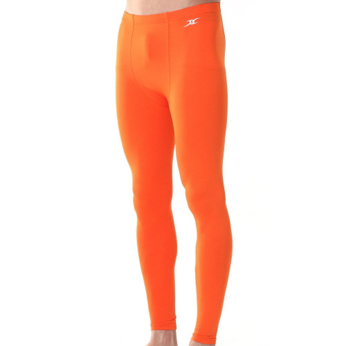 c1b2cc1eb Mens Compression Long Pants PS Orange - ourunderwear