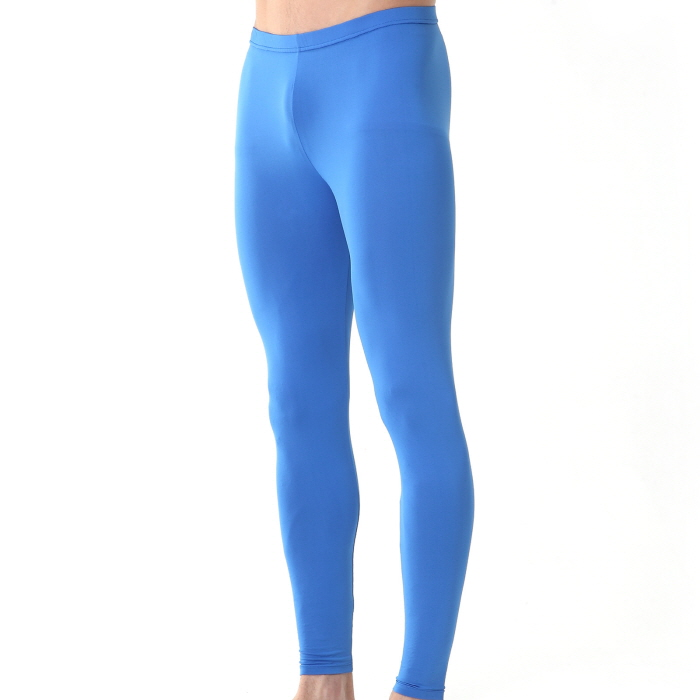 Mens Compression Long Pants EP Blue | ourunderwear