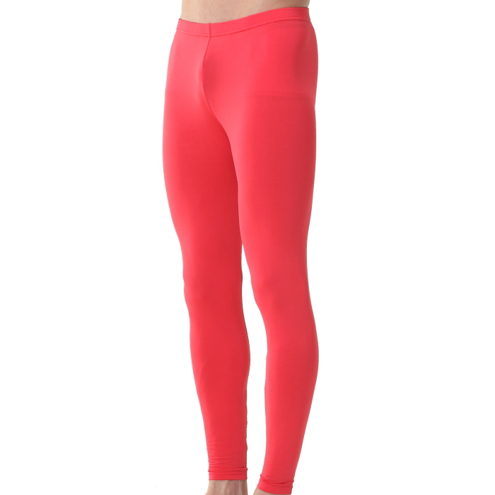 Mens Compression Long Pants EP Red - ourunderwear