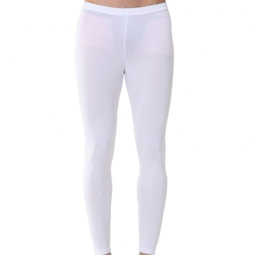 9b8310c938bc7b Mens Compression Long Pants EP White - ourunderwear