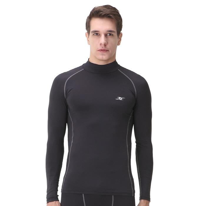 acbe8203c9c Mock Turtleneck Men NLM Thermal Shirts – ourunderwear