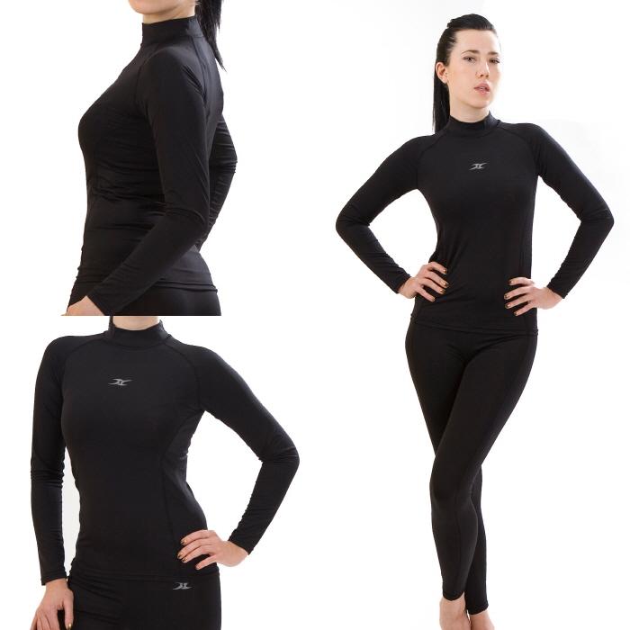 4895904f729937 Mock Turtleneck Women Thermal Underwear Shirts NLW – ourunderwear